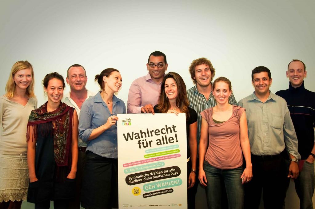 Team Jede Stimme 2011