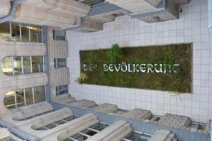 Kunstprojekt im Lichthof des Reichstages Foto: Nikoloz Tokhvadze