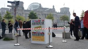 Urne vor Reichstag